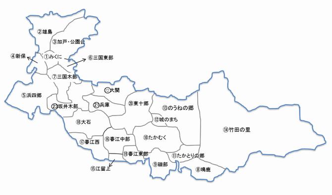 福井県坂井市/まち協 MAP & DATA